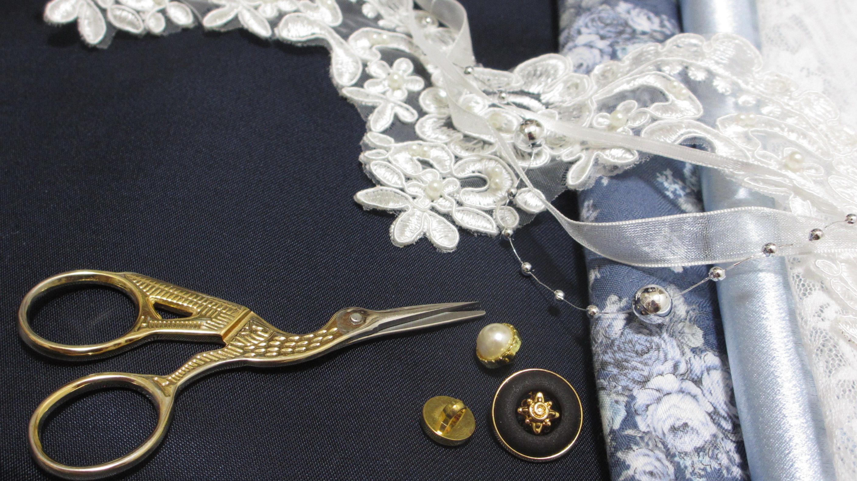 手芸材料と道具